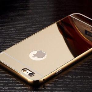 iPhone 7 Bumper Mirror Back Case Cover