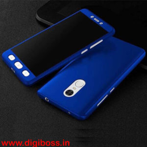 Redmi Note 4 front and back cover with temperd glass full procetion