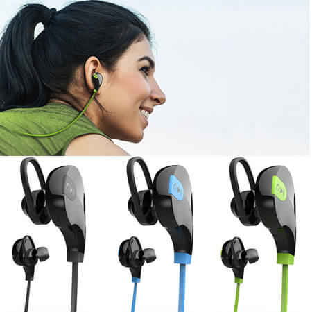 Bluetooth Wireless Earphones Compatible with all Mobil